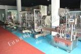Líquido de la máquina de llenado automático de la línea de embotellado de cosméticos, llenado