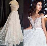 주문 형식 숙녀 소녀 형식 레이스 구슬로 만드는 신부 드레스 저녁 Prom 저녁 결혼 예복 CZ5506