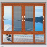 Aluminiummalaysia-hölzerner Farben-Rahmen-Glastür-und Fenster-Entwurf