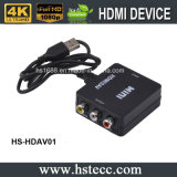 AV mini HDMI HD Video Converter para el proyector