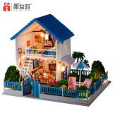 Большие деревянные виллы Dollhouse игрушек для детей