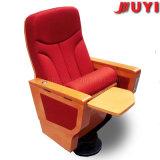 Jy-999d Bureau Vente en gros Recliner Films en anglais Pièce en bois avec tablette d'écriture Sièges de conférence Chaises de théâtre pour salle de réunion