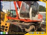Excavadora de ruedas usadas Hatachi Ex160W de la excavadora utilizada Ex160W