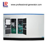 geradores Soundproof de 570kw 12cylinders com controlador do alto mar