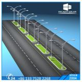 AC de fundición a troquel de aluminio de un solo brazo de luz LED de calle al aire libre