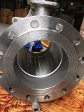 DIN는 압축 공기를 넣은 공 벨브 Pn16 2PC 바디 플랜지를 붙였다