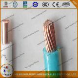 600 volts. Kabel van de Schede 4AWG van de Isolatie van de Leider van het koper de Thermoplastische Nylon