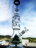 2016 جديدة زجاجيّة كأس ضعف داخليّة زرقاء لون قبة جذر زجاجيّة [وتر بيب] جليد أخداش [سموك بيب]
