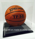 Верхний продавая акриловый розничный витринный шкаф для баскетбола