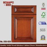 純木の食器棚の振動ドア(GSP5-020)