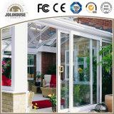Plastik-UPVC Profil-Rahmen-Schiebetür des Qualitäts-Fabrik-preiswerter Preis-Fiberglas-mit Gitter nach innen
