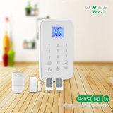 Sistema de alarma sin hilos casero de la fábrica TFT Cid de Shenzhen