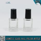 12ml botella de vidrio vacía esmalte de uñas de gel de uñas con botella de vidrio para el esmalte de uñas
