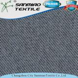 ジーンズのための編まれたデニムファブリックを編む軽量の方法インディゴの綿のスパンデックスポリエステルあや織り