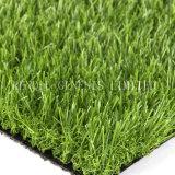 Белый водонепроницаемый искусственных травяных газонов на футбольном поле
