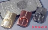 precio de fábrica directa de teléfono móvil de metal personalizados Porta Anillo logotipos logotipos automático equipo de fútbol