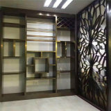 Décoration islamique moderne Intérieur en acier inoxydable Diviseurs et écrans décoratifs