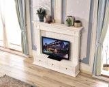 新しいモデル木TVの立場の居間の家具(348)