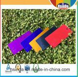 Rivestimento viola personalizzato della polvere di colore della caramella lucida a buon mercato alta della fabbrica