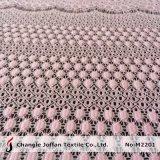 Домашняя ткань занавеса шнурка вышивки тканья (M2201)