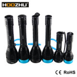 Hoozhu D11 LED 잠수 빛은 120m 급강하 토치 LED 잠수 플래쉬 등을 방수 처리한다