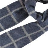 Lã de moda homens mesclado cachecol