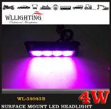 4 LED-Oberflächen-Montierungs-Licht-Kopf-Warnleuchte