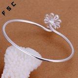 Nach Maß Form-Silber überzogenes Chrysantheme-Armband für Mädchen