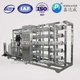 instalación de tratamiento industrial del agua salada del sistema de la purificación del RO 10t
