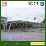 PVDFの膜の構造が付いている駅の駐車場のテント
