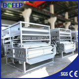 Equipo de la fábrica para la venta filtro prensa de la correa de los lodos de aguas residuales municipales