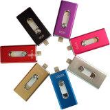 Nuovo azionamento dell'istantaneo del USB di Pendrive del telefono del metallo del bastone di memoria del USB di OTG