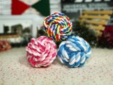 Pet Chews Durable Rope Ball juguetes para los perros Chews