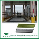Grau industrial Pontes-básculas ferroviárias informatizada plenamente para Serviço Pesado