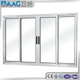 As2047 het Ontwerp van de HoofdDeur met de Dubbele Verglaasde Schuifdeur van het Aluminium van Vensters en van Deuren