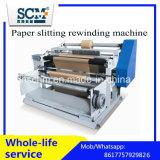 Бумажная разрезая перематывать машина/автоматическая машина термально бумаги разрезая