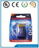 bateria ultra alcalina de 9V 6lr61