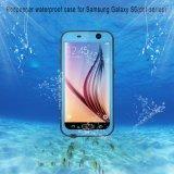 高品質のSamsung S6のための上の防水携帯電話の箱