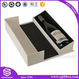 Singolo contenitore impaccante di carta di vino