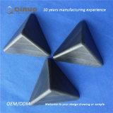 Qinuo Zoll 75*75*75mm verdickte mit Seiten versehene Kasten-Eckschoner des Schwarz-3