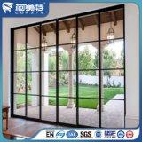 China-Zubehör-schwarzes Puder-Beschichtung-Aluminiumprofil für französisches Flügelfenster-Fenster