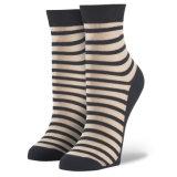 Beunruhigte verblassene ungerade Streifen-Socken