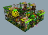 Corrediça plástica &#160 da combinação da floresta da corrediça dos miúdos; Playgroud ao ar livre