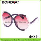 Óculos de sol plásticos da alta qualidade para mulheres