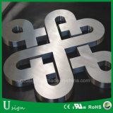 segni solidi della lettera del metallo dell'acciaio inossidabile di 3mm