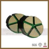 屑50コンクリートのための3インチのヴェルクロ過渡的な陶磁器の結束の粉砕のパッド