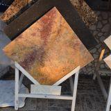 Teja de mármol de acero pulido con alta calidad