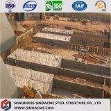 大規模な工場またはプラントのための品質によって保証される重い鉄骨構造