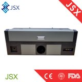Jsx5030 pequeña muestra del laser 35W que hace la publicidad de la máquina de grabado del laser