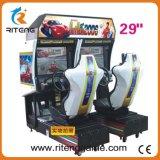 Video macchina della galleria del gioco di corsa di automobile del simulatore